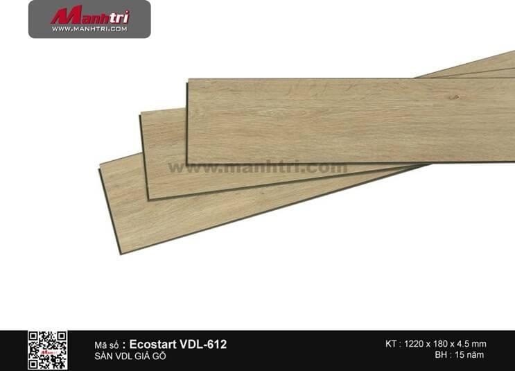 Sàn nhựa giả gỗ Ecostar VDL-612