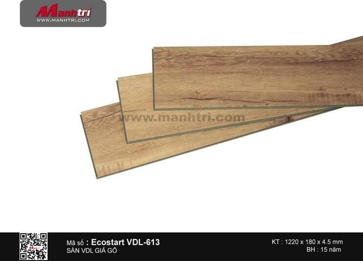 Sàn nhựa giả gỗ Ecostar VDL-613