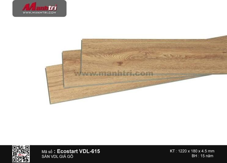 Sàn nhựa giả gỗ Ecostar VDL-615