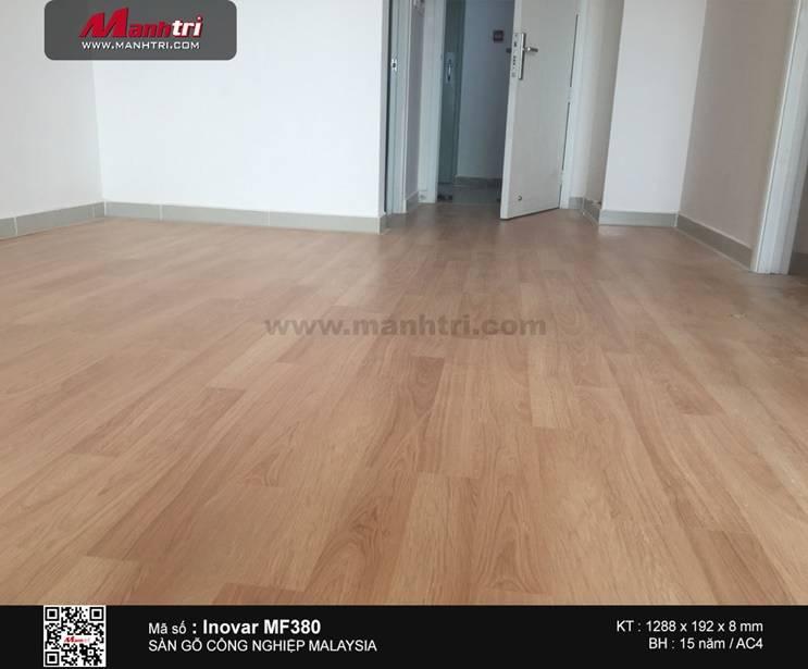 Lắp đặt sàn gỗ công nghiệp Inovar MF380 tại Căn hộ Residence, Q.Thủ Đức, TP.HCM