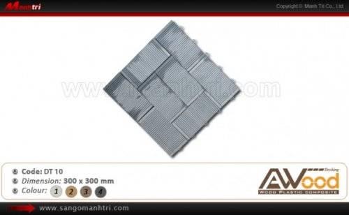 Vỉ gỗ nhựa Awood DT10