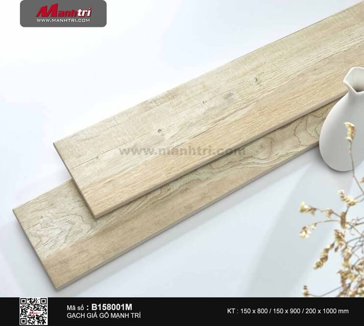 Gạch giả gỗ B158001M