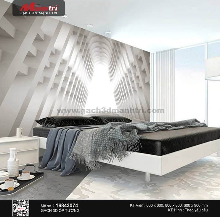 Gạch 3D Mạnh Trí 16843074