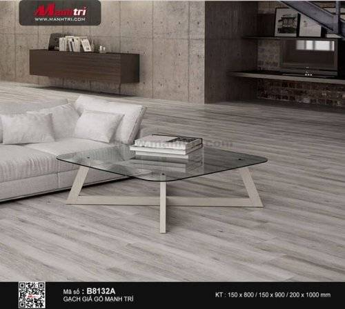 Gạch giả gỗ 15 x 60cm