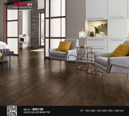 Gạch giả gỗ 15 x 90cm