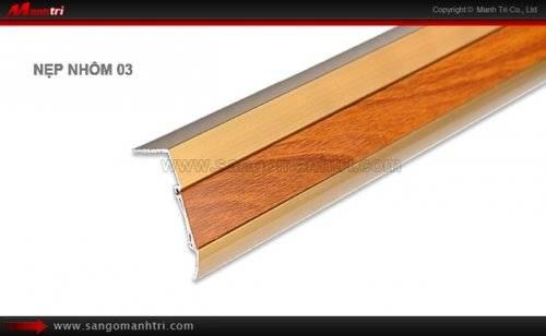 Nẹp nhôm sàn gỗ 03