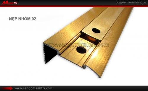 Nẹp nhôm sàn gỗ 02