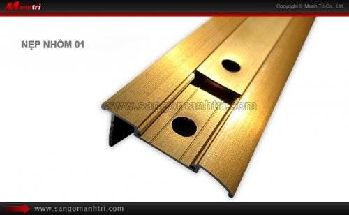 Nẹp nhôm sàn gỗ 01