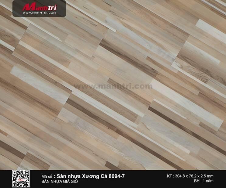 Sàn nhựa xương cá 8094-7