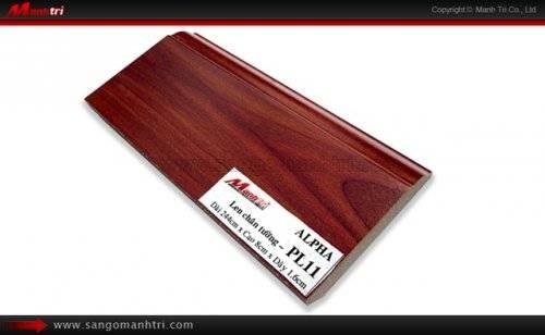 Len chân tường sàn gỗ PL11