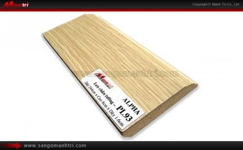 Len chân tường sàn gỗ PL93