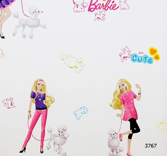Giấy dán tường Barbie 3767