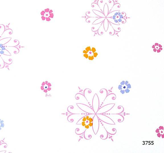 Giấy dán tường Barbie 3755