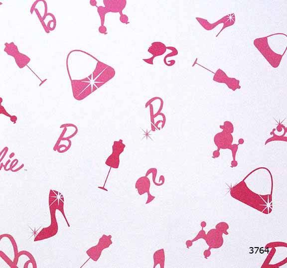 Giấy dán tường Barbie 3764