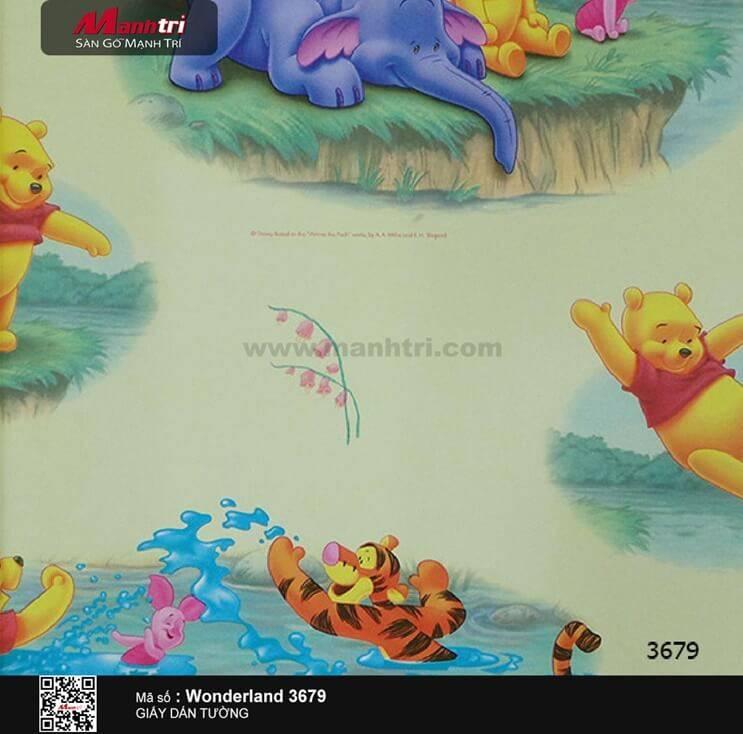 Giấy dán tường Wonderland 3679