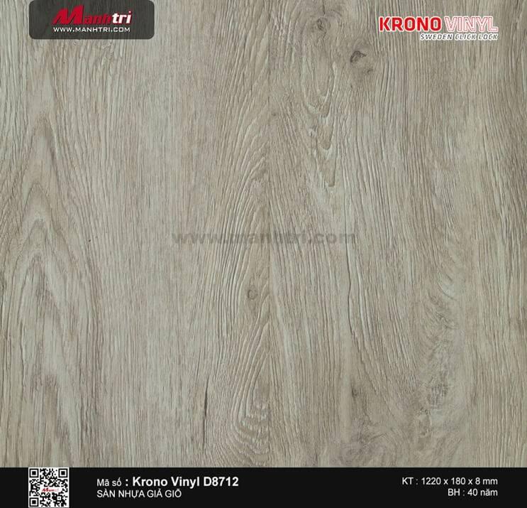 Sàn nhựa Krono Vinyl D8712
