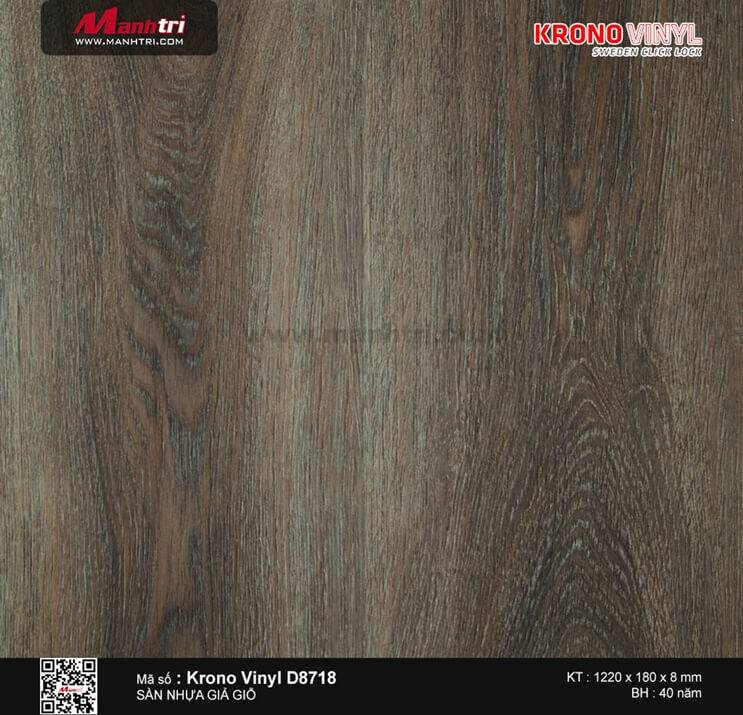 Sàn nhựa Krono Vinyl D8718