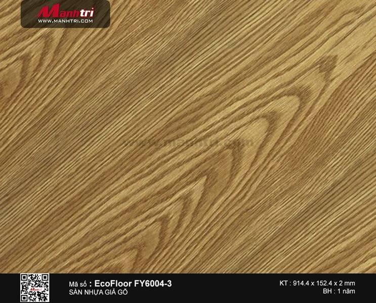 Sàn nhựa giả gỗ Ecofloor FY6004-3