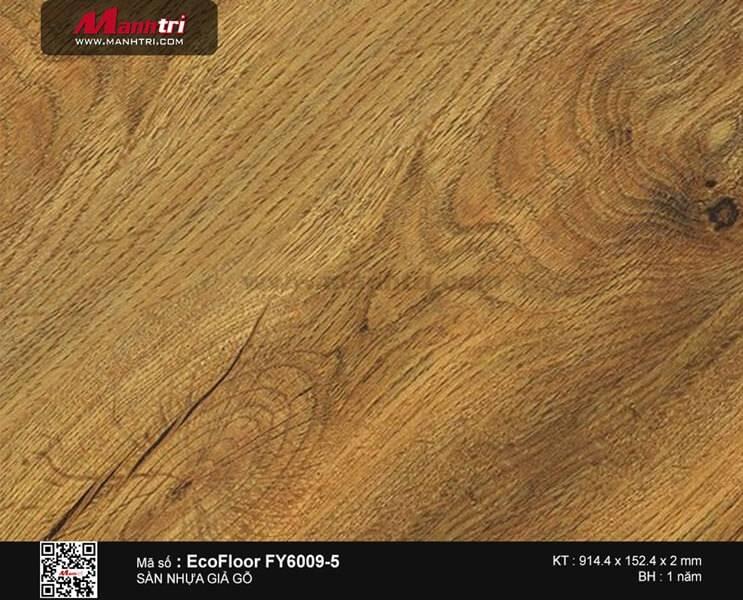 Sàn nhựa giả gỗ Ecofloor FY6009-5