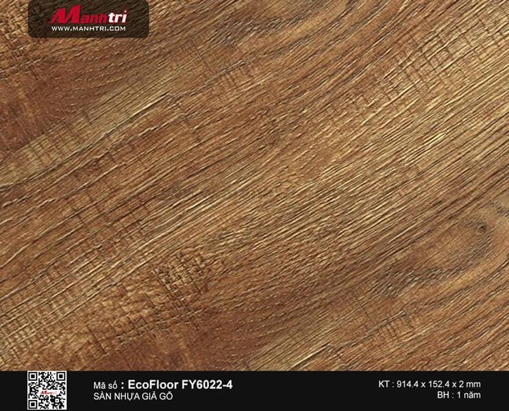 Sàn nhựa giả gỗ Ecofloor FY6022-4