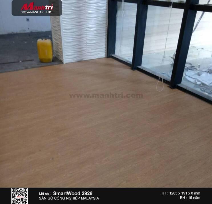 Thi công sàn gỗ Smartwood 2926 tại Nguyễn Hữu Cảnh, Q.1