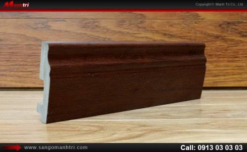 Len chân tường sàn gỗ P09