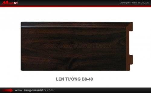 Len chân tường sàn gỗ B801-40