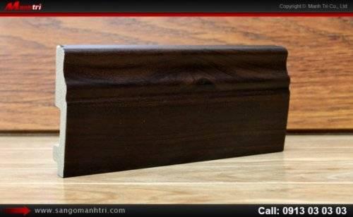 Len chân tường sàn gỗ P040