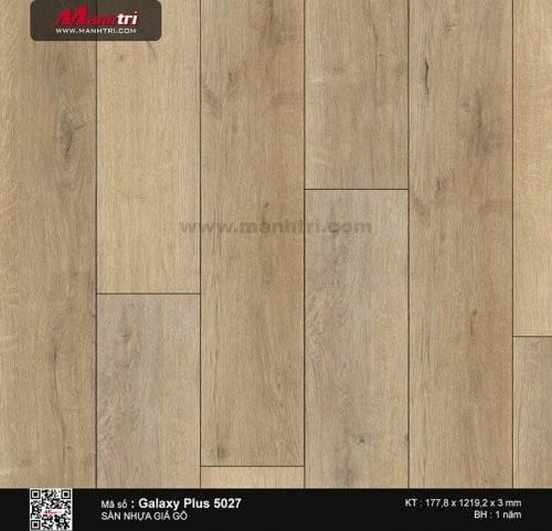 Sàn nhựa giả gỗ Galaxy Plus 5027