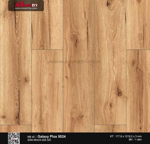 Sàn nhựa giả gỗ Galaxy Plus 5024