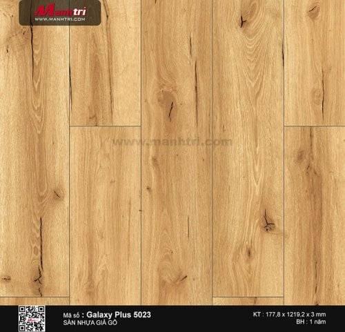 Sàn nhựa giả gỗ Galaxy Plus 5023