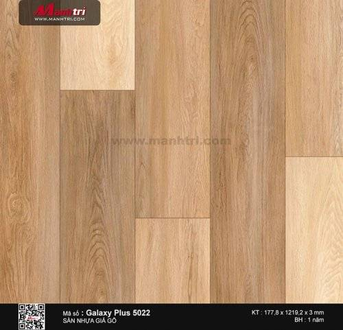 Sàn nhựa giả gỗ Galaxy Plus 5022