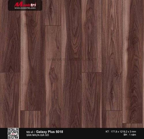 Sàn nhựa giả gỗ Galaxy Plus 5018