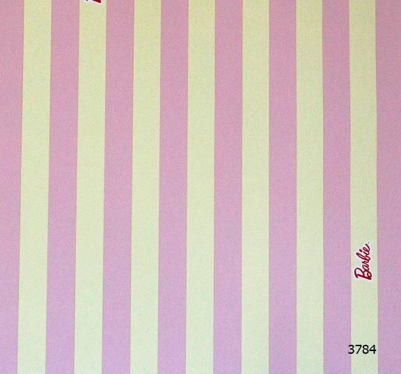 Giấy dán tường Barbie 3784
