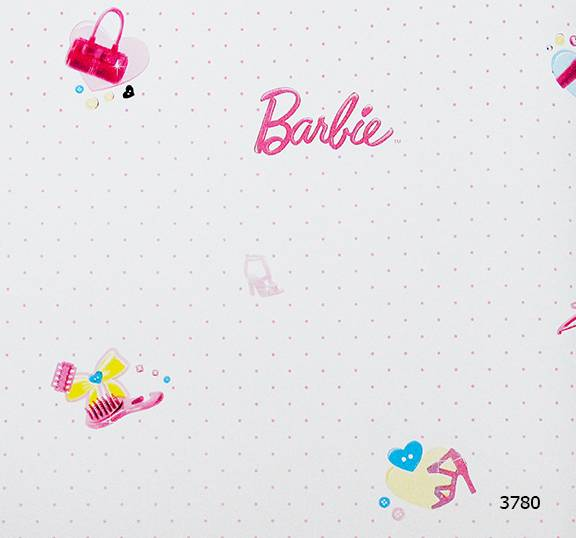 Giấy dán tường Barbie 3780
