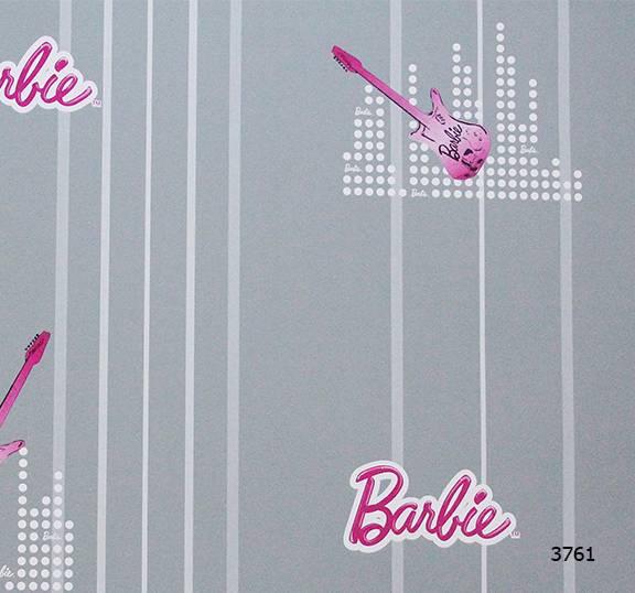 Giấy dán tường Barbie 3761