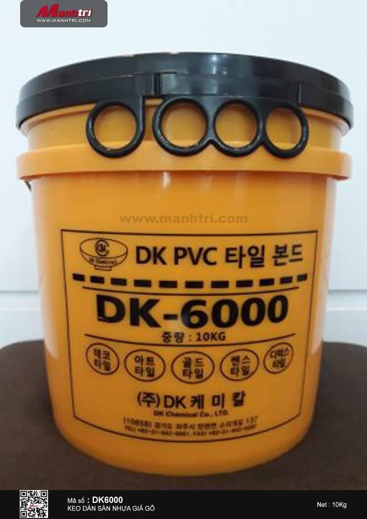 Keo dán sàn nhựa DK6000 (10Kg)