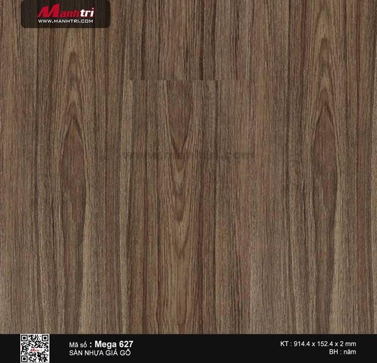 Sàn nhựa giả gỗ Mega 627