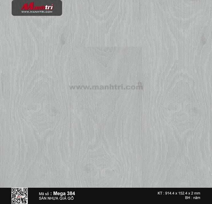 Sàn nhựa giả gỗ Mega 384