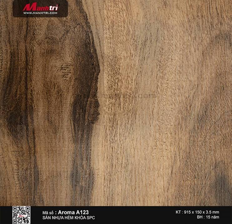 Sàn nhựa hèm khóa Aroma SPC A123