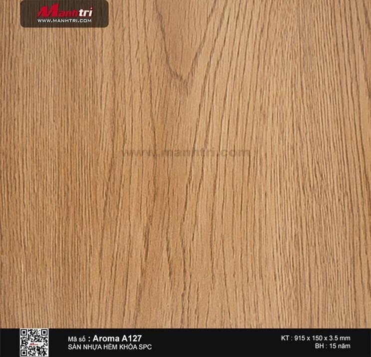 Sàn nhựa hèm khóa Aroma SPC A127