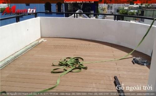 Dự án thi công sàn gỗ Awood tại quận 1 TPHCM