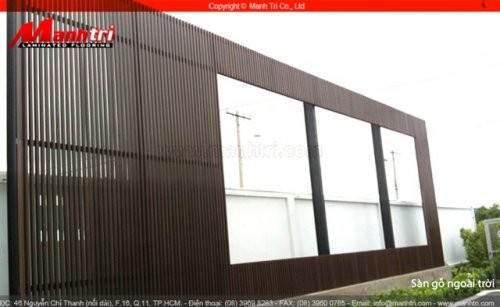 Dự án thi công sàn gỗ ngoài trời Awood tại quận Tân Bình TPHCM
