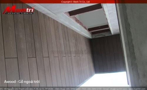 Dự án thi công sàn gỗ Nhựa Awood tại quận Gò Vấp TPHCM