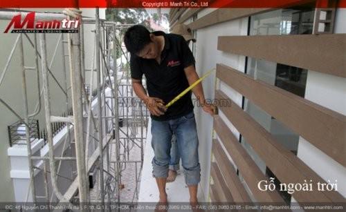 Dự án thi công sàn gỗ nhựa Awood tại quận Tân Bình (lần 2)