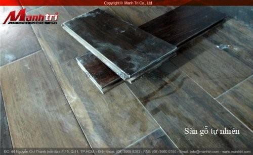 Dự án thi công sàn gỗ tự nhiên Chiu Liu tại quận 8 TPHCM