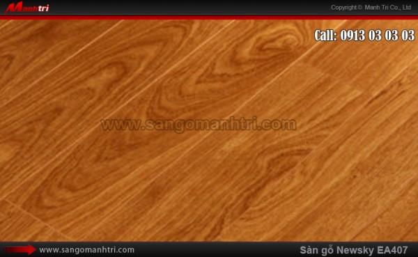 Sàn gỗ công nghiệp NewSky EA407