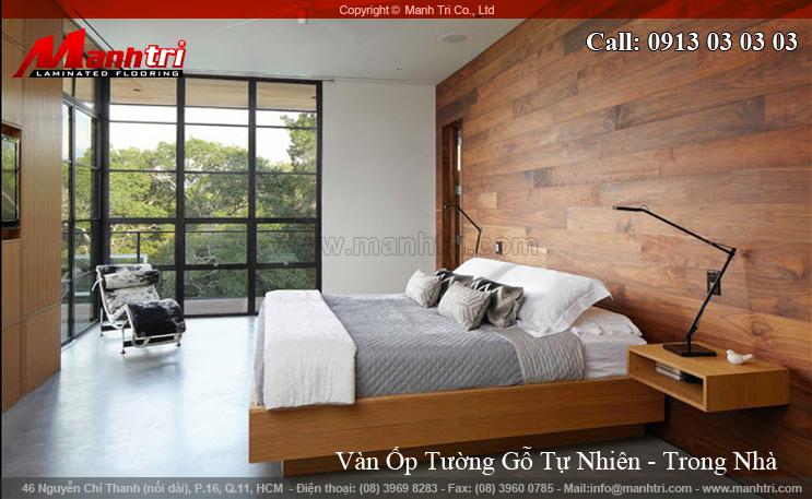 Hình ảnh gỗ tự nhiên ốp tường nội thất