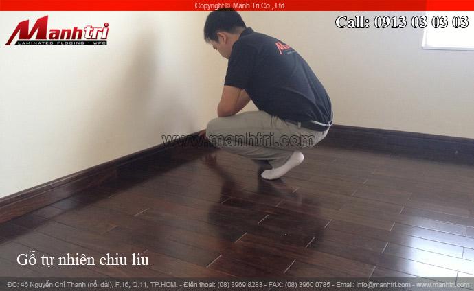 Sàn gỗ đẹp Chiu liu sang trọng