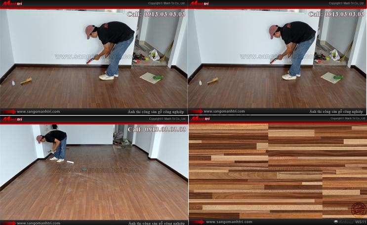 Hình ảnh gỗ công nghiệp dùng lót sàn nhà